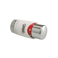 Термостатическая головка Hummel Designtechnik M30x1,5, белый (RAL 9016)