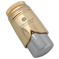 Термостатическая головка SCHLOSSER Brillant M30x1,5 SH, золото-хром