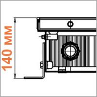серия ITTB Maxi, высота 140 мм
