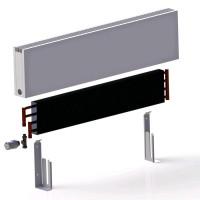 Настенные конвекторы iTermic ITF/W (высота 200 мм, глубина 100 мм)