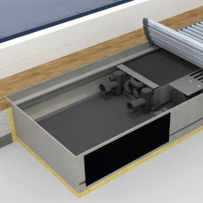 Внутрипольные конвекторы MOHLENHOFF QSKM, высота 66 мм, глубина 195 мм