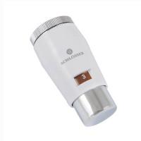 Термостатическая головка SCHLOSSER Mini Brillant M30x1,5 SH, белый-хром