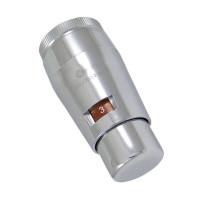 Термостатическая головка SCHLOSSER Mini Brillant M30x1,5 SH, хром