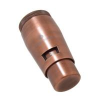 Термостатическая головка SCHLOSSER Mini Brillant M30x1,5 SH, медь
