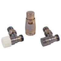 """Комплект термостатический SCHLOSSER Elegant Mini 1/2""""xM22x1,5 угловой, Technoline"""