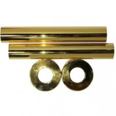 SR Rubinetterie Комплект декоративных трубок Ду18, L=160 мм, цвет золото, арт. 0491-1500D160
